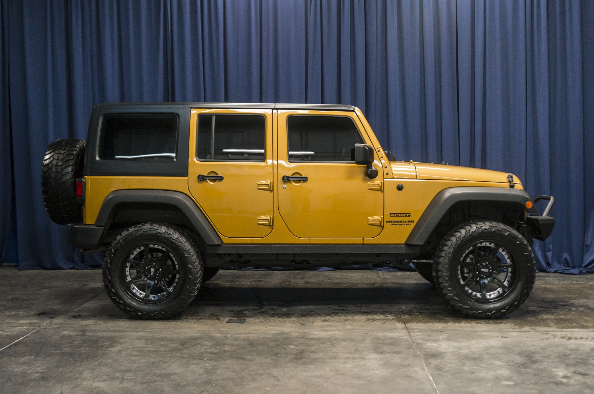 2014 jeep wrangler unlimited sport manual