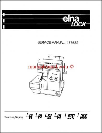 elna lock l1 manual free
