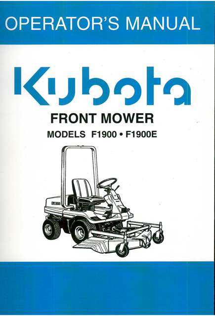 kubota rtv 900 manual download