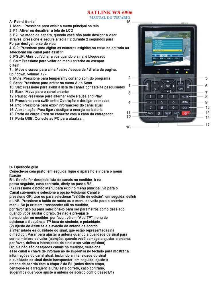 satlink ws 6909 user manual